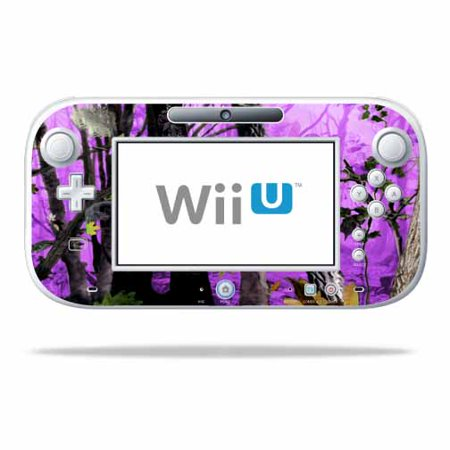 - MightySkins Skin For Nintendo Wii U GamePad Controller | Protective, Durable, and Unique Vinyl Decal wrap cover | Easy To Apply, Remove, and Change Styles | Made in the USA