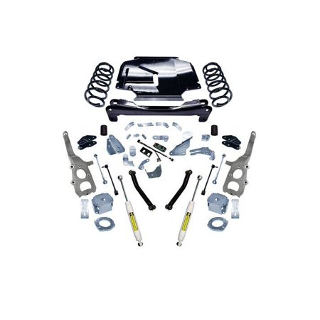 SUPERLIFT 2008-2010 Jeep Grand Cherokee 4WD with SL Rear Shocks Lift Kit 4