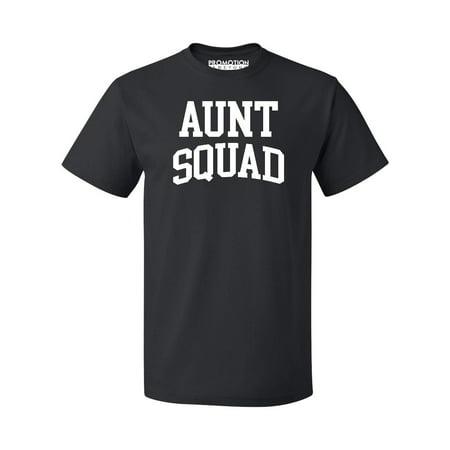 Aunt Squad Birthday Pregnancy Mother's Day Gift Men's T-shirt, S, Black