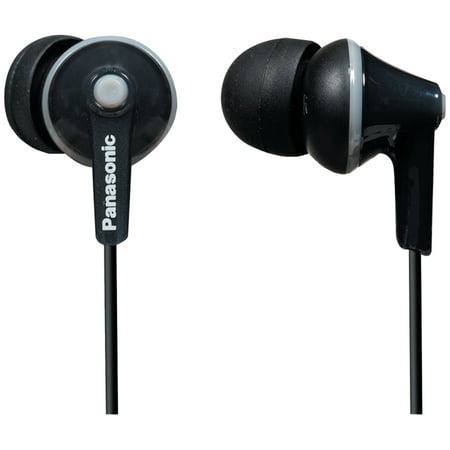 Panasonic RP-TCM125-K TCM125 Earbuds with Remote & Microphone