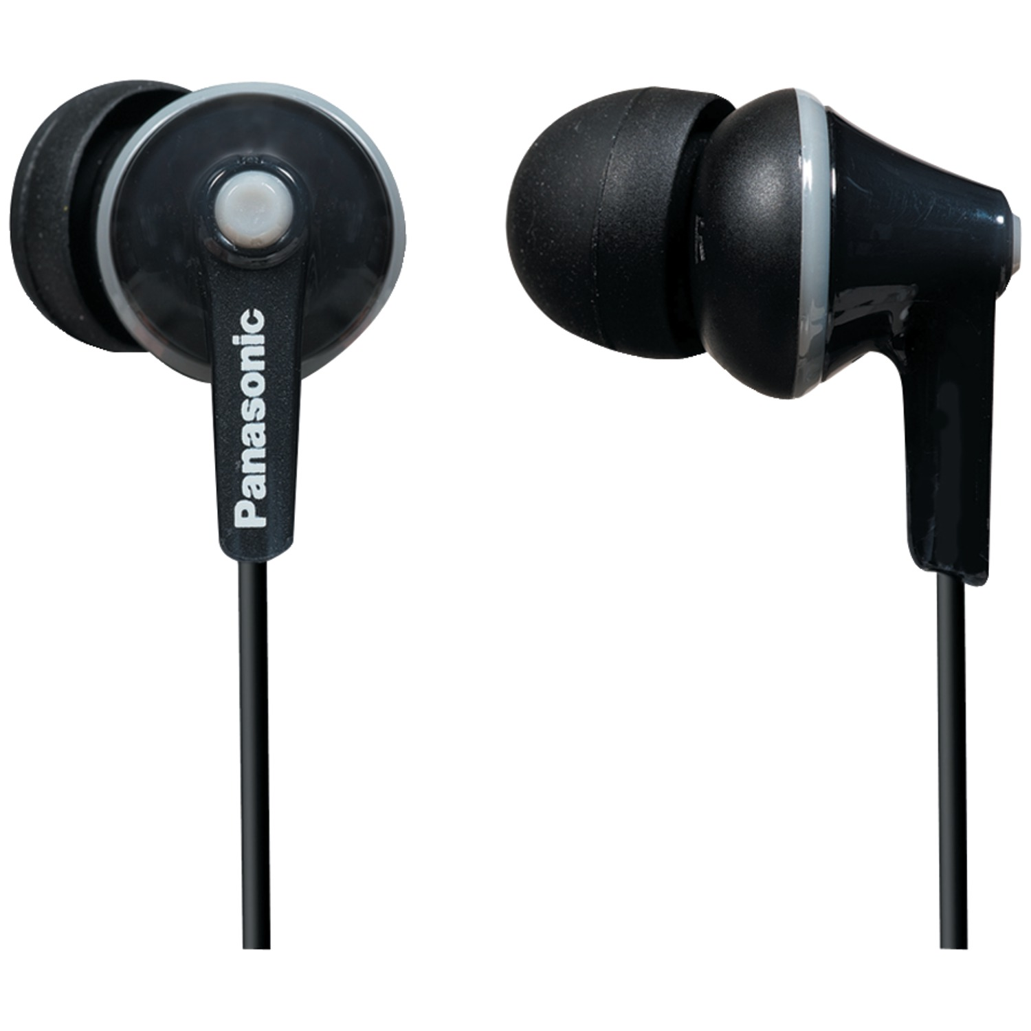 Panasonic RP-TCM125-K TCM125 Earbuds with Remote & Microphone (Black)