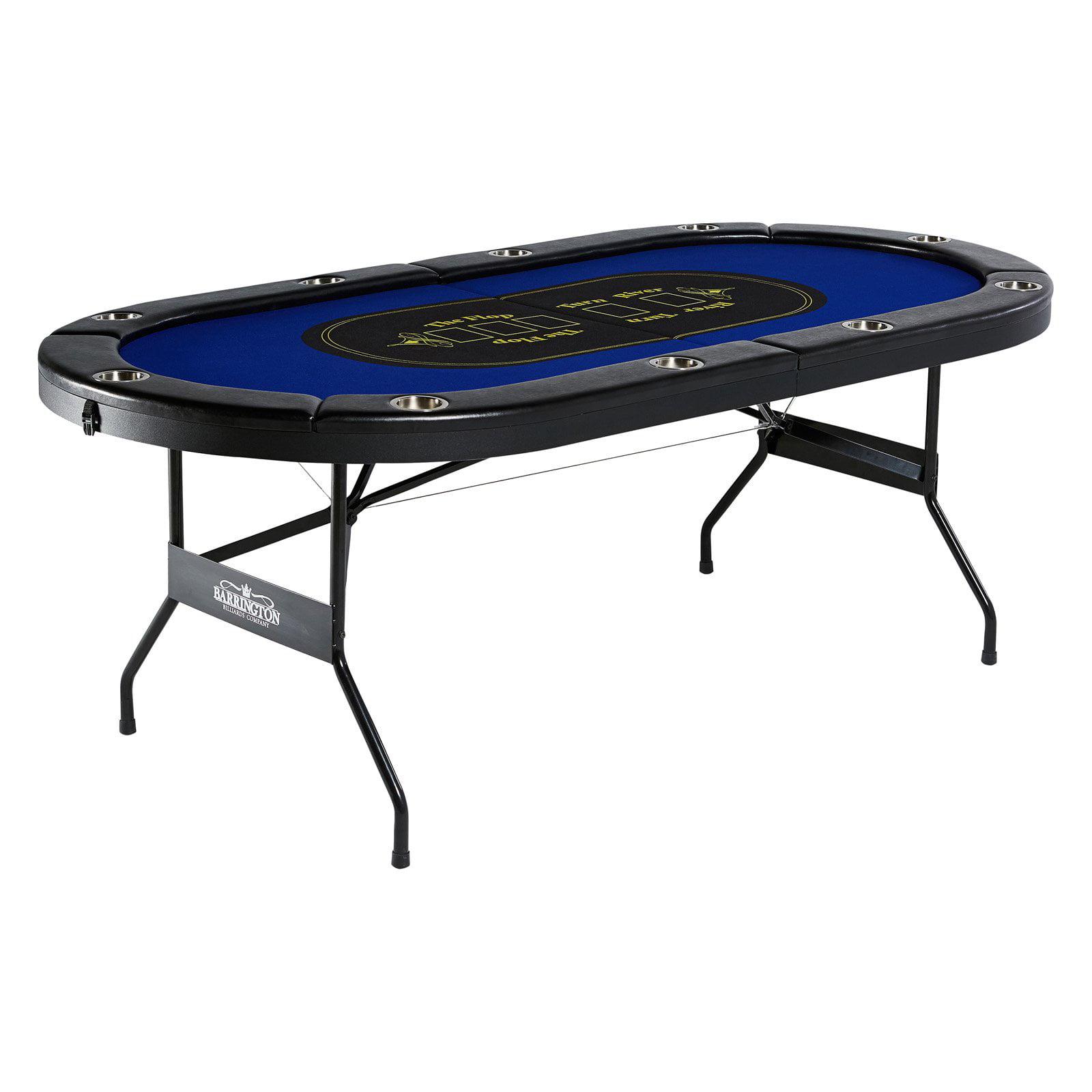 Barrington 10 Player Poker Table   Walmart.com