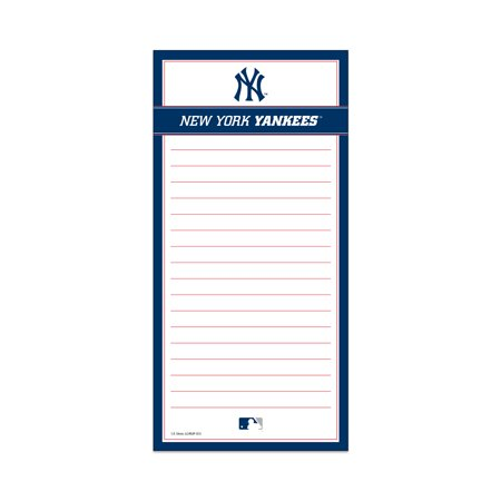 Magnetic List Pad New York Yankees short description is not available