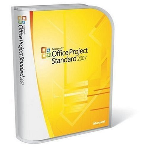 Microsoft Project Standard 2007 Upgrade for Windows