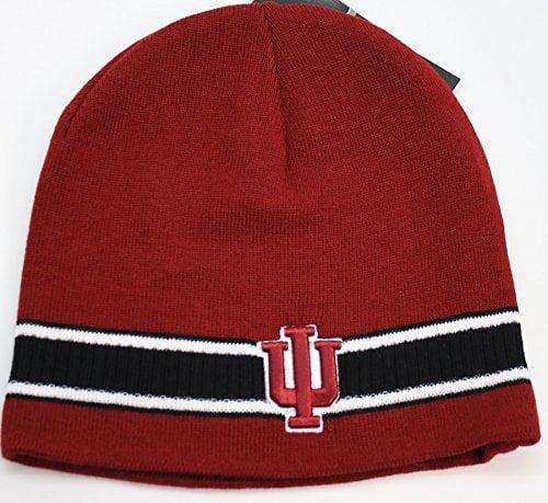 NCAA Indiana Hoosiers Cuffless Knit Beanie Hat