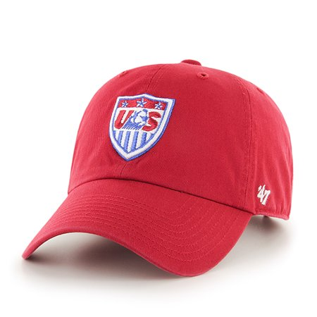 15d9666fcdd USA United States Soccer National Team 47 Brand Red Adjustable Slouch Hat  Cap - Walmart.com