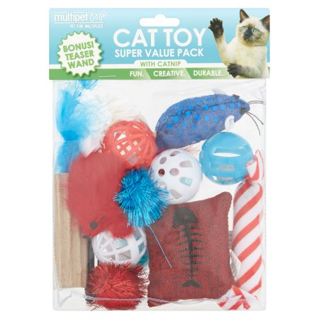 Cigar Cat Toy - Multipet Catnip Super Value Pack Cat Toy