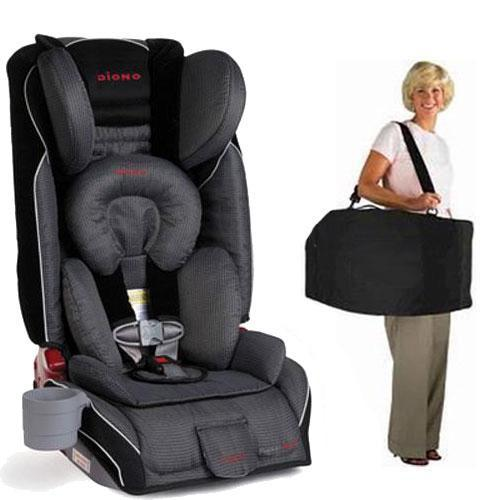 Diono Radian RXT Car Seat with Free Carrying Case - Shadow