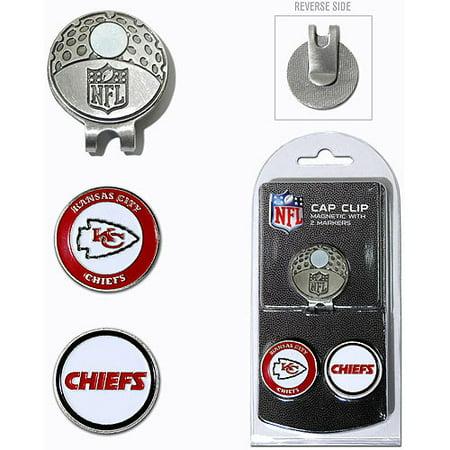 Kansas City Chiefs 2-Marker Cap Clip - Kansas City Chiefs Clip