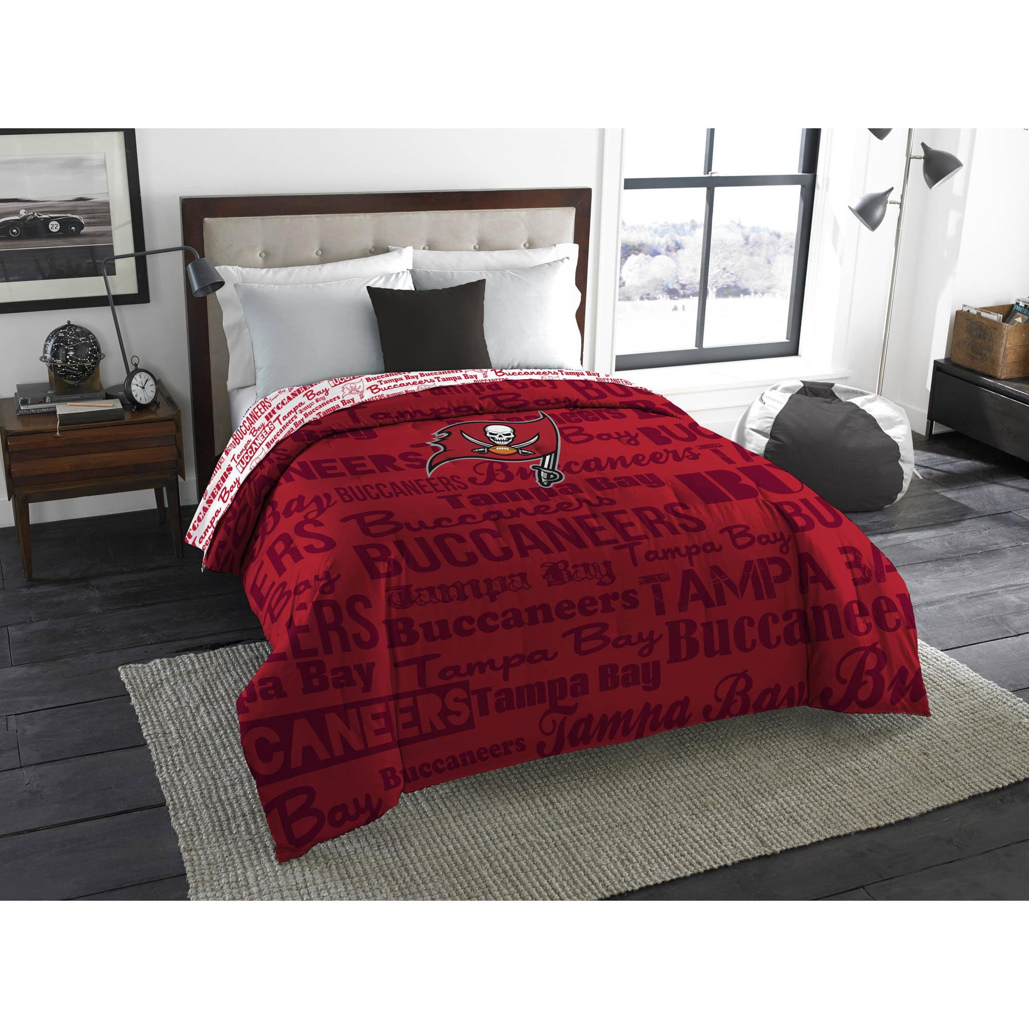 "NFL Tampa Bay Buccaneers ""Anthem"" Twin/Full Bedding Comforter"