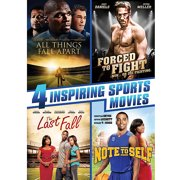 4 Inspiring Sports Movies: All Things Fall Apart   Forced To Fight   The Last Fall   Note To Self (Walmart Exclusive)... by