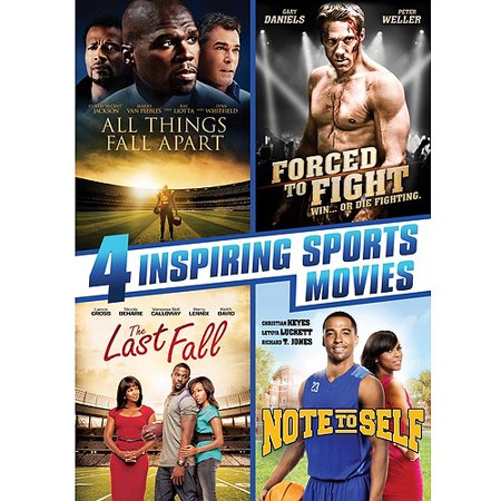 4 Inspiring Sports Movies: All Things Fall Apart / Forced To Fight / The Last Fall / Note To Self (Walmart Exclusive) (Widescreen, WALMART EXCLUSIVE)