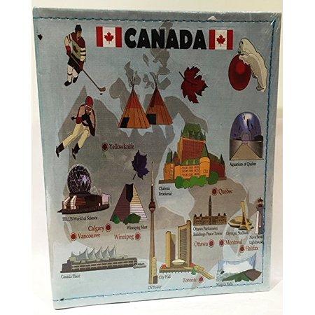 Canadian Album (Canada Embossed Photo Album 100 Photos / 4x6 )