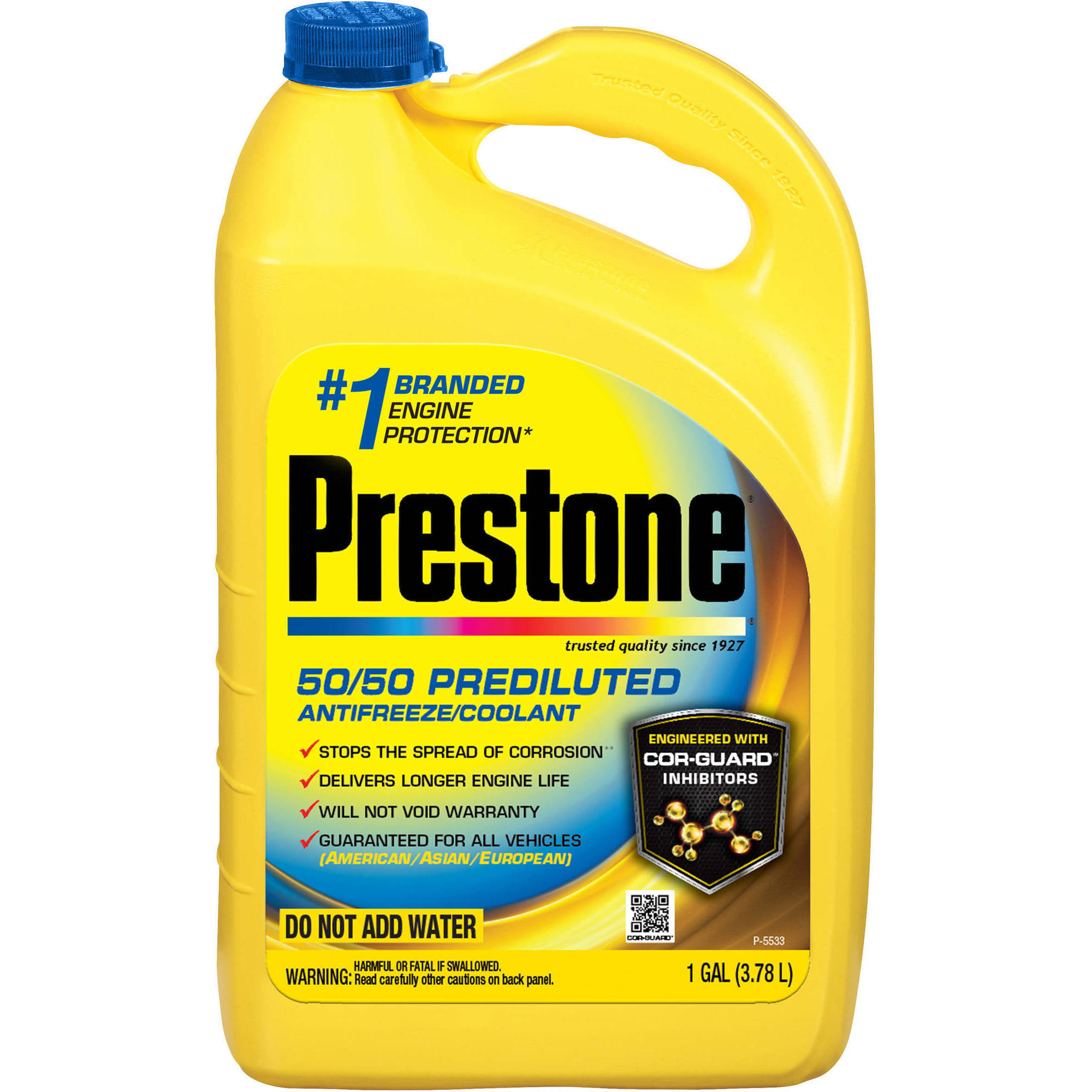 Prestone Dex Cool Extended Life Antifreeze Coolant 1gal