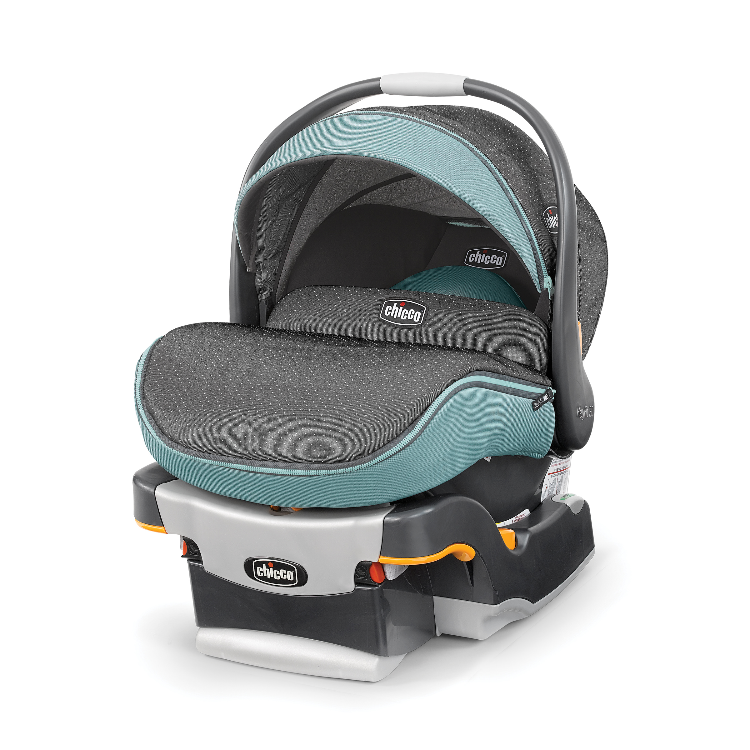 Chicco KeyFit Zip 30 Infant Car Seat, Serene