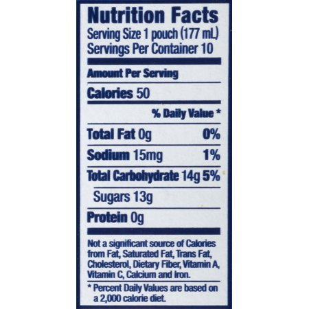 Capri Sun Coastal Cooler Juice Drink 10-6 fl. oz. Pouches
