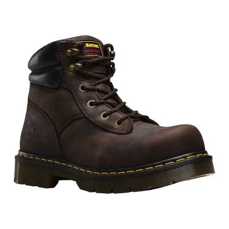 Dr Martens Steel Boots (Dr. Martens Work Burnham Steel Toe 6 Tie Boot)