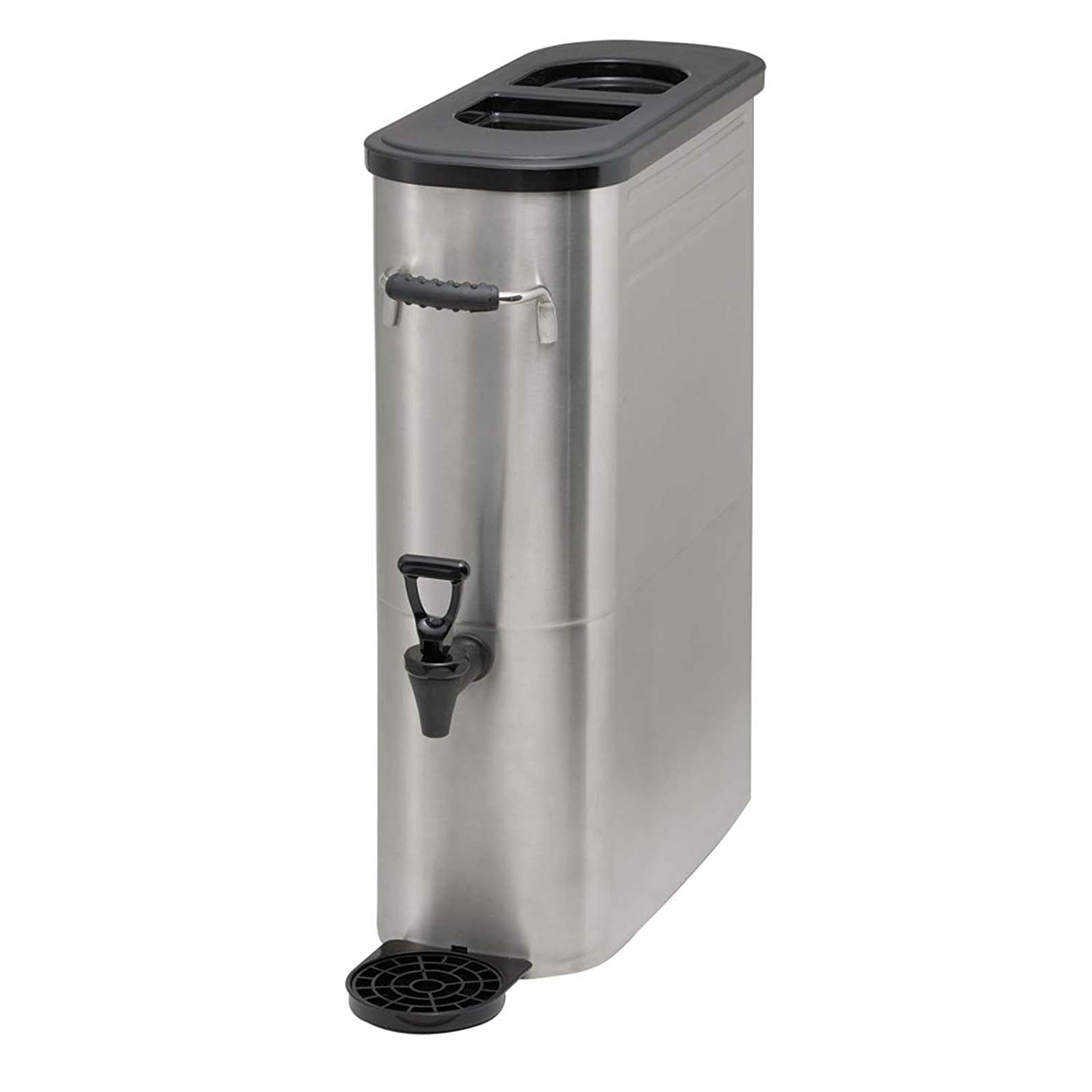 Winco SSBD-5 Stainless Steel Ice Tea Dispenser, 5-Gallon by Winco