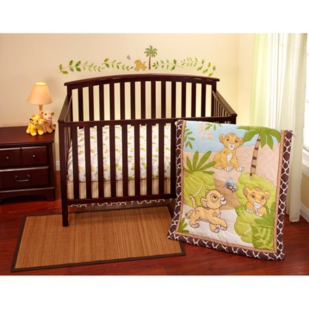 disney baby king simba 3 crib bedding set 87354