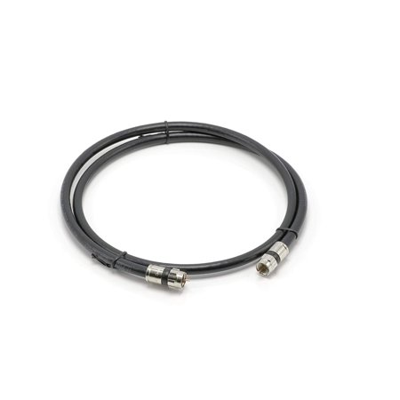 - THE CIMPLE CO - 10' Feet, Black RG6 Coaxial Cable (Coax Cable) | Made in the USA | with High Quality Connectors, F81 / RF, Digital Coax | AV, CableTV, Antenna, and Satellite, CL2 Rated, 10 Foot