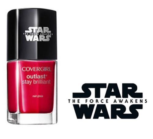 Covergirl Star Wars Nail Polish Limited Edition #180 Red Revenge