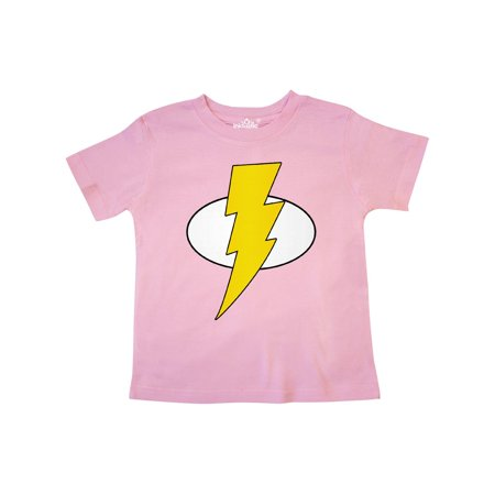 Superhero Baby Lightening Bolt Toddler T-Shirt](Baby Super Hero)