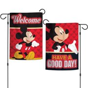 Official Mickey Mouse Have a Good Day Garden Flag