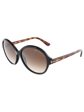 fbd5dddf50b Product Image Tom Ford FT0343 S 05B MILENA Black Havana Round sunglasses