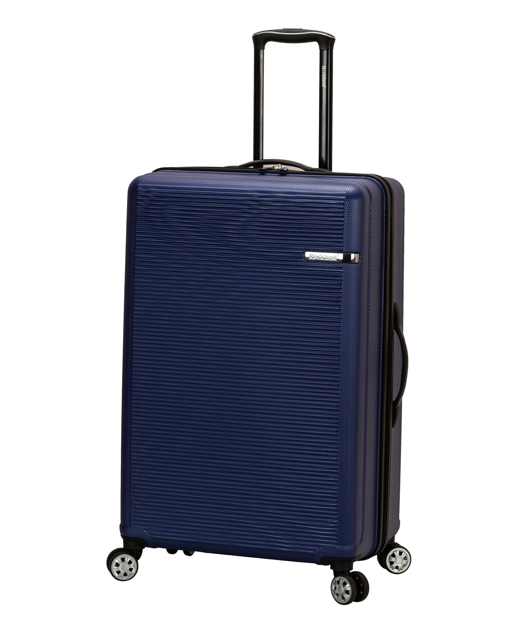 344ad2558e15 Rockland Luggage Skyline 3 Piece Hardside ABS Non-Expandable Luggage Set,  F240