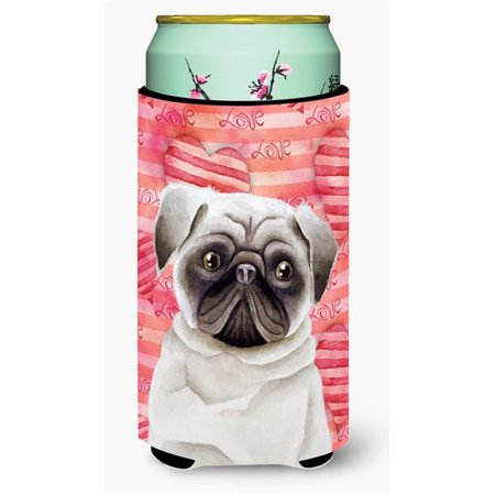 Pug Love Tall Boy Beverage Insulator Hugger - image 1 de 1