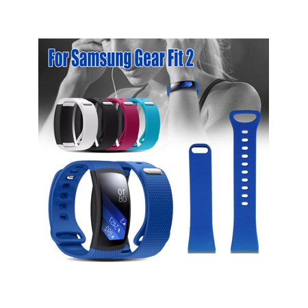 Lastest Luxury Silicone Replacement Wristband Watch Band Strap For Samsung Gear Fit 2 Tracker &SM-R360