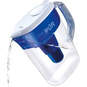 PUR Basic Pitcher Water Filter 7 Cup, PPT700W, Blue,White