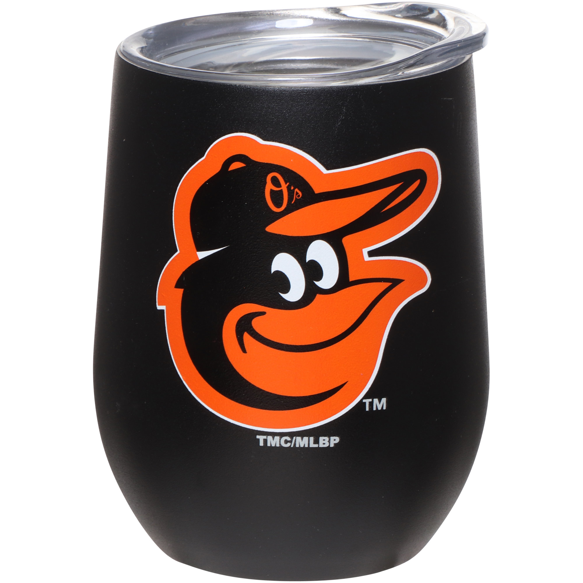 Baltimore Orioles 15oz. Matte Stainless Steel Stemless Tumbler - No Size