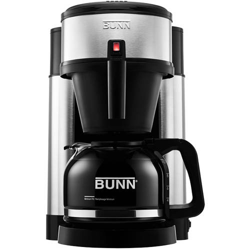 BUNN NHS Velocity Brew 10-Cup Coffee Brewer, 44900.0002