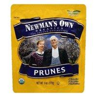 Newmans Own Organics Prunes, 6 OZ (Pack of 12)