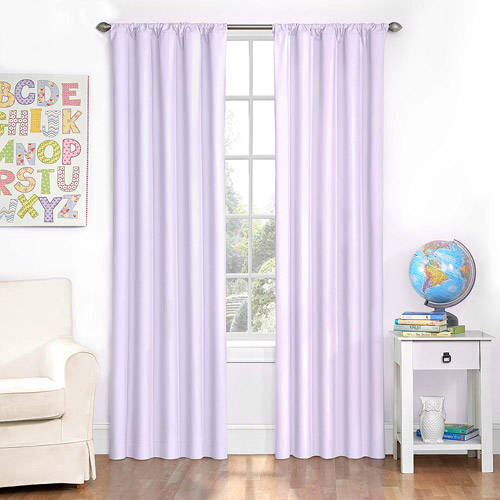 Ellery Homestyles Studio Eclipse Kid's Microfiber Window Curtain Panel