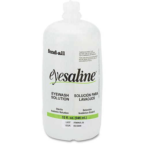 Fend-all Eyesaline Eyewash Solution Refill, 32 oz