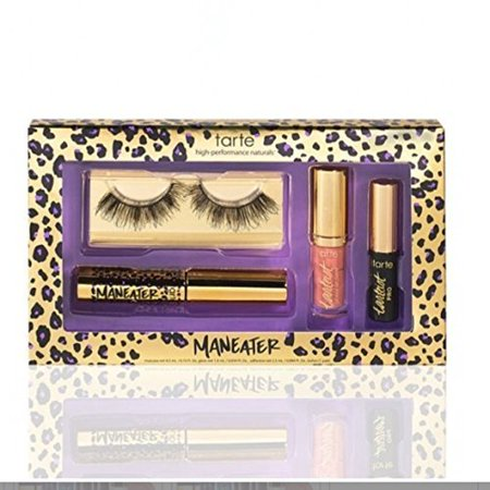 Tarte Maneater Limited Edition Tarteist Makeover Set Black    Pro Cruelty Free Lashes, Adhesive,  Mascara,  Glossy Lip Paint Obvi by Tarte