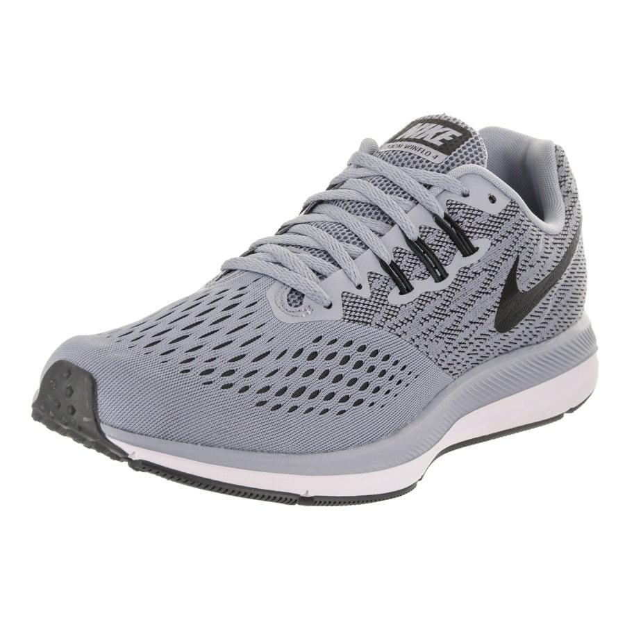 NIKE Men's Zoom Winflo 4 Men Glacier/Grey/Black/Bnthracite Running Shoe 8.5 Men 4 US 7cf2cb