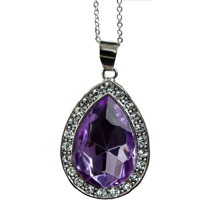 Sofia Purple Amulet Of Avalor Necklace The First Teardrop Realistic Princess