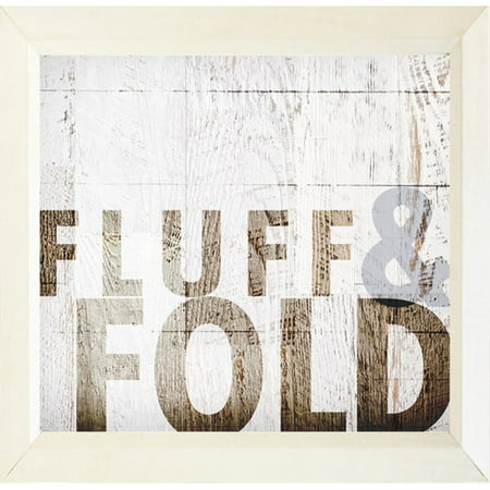 Buy Art For Less ''Fluff and Fold'' by Dallas Drotz Framed Textual Art - Halloween Dallas Ga