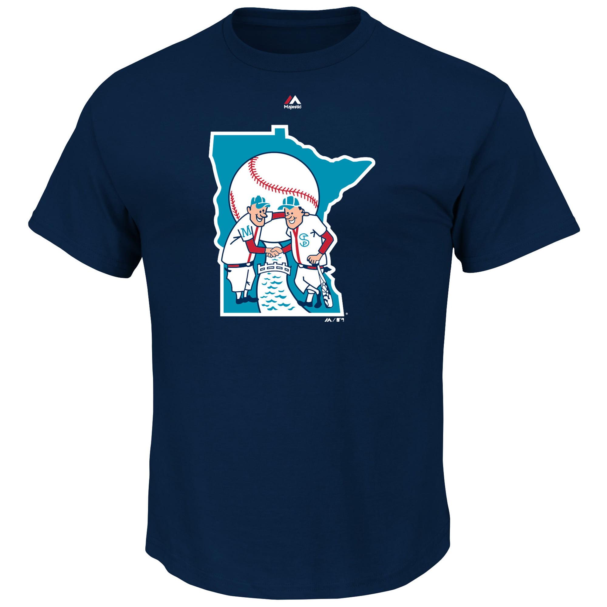 Minnesota Twins Majestic Big & Tall Cooperstown Logo T-Shirt - Navy