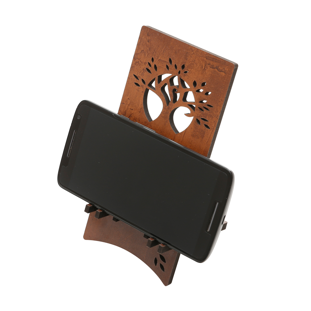Woodart Cell Phone Support/Holder for Desk and Tabletop
