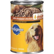 PEDIGREE Chopped Ground Dinner With Chicken Canned Dog Food 22 Ounces