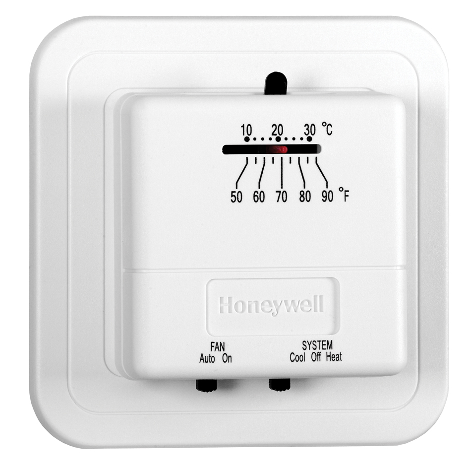 Honeywell Economy Non-Programmable Thermostat, Heating and Cooling (CT31A1003/E1)
