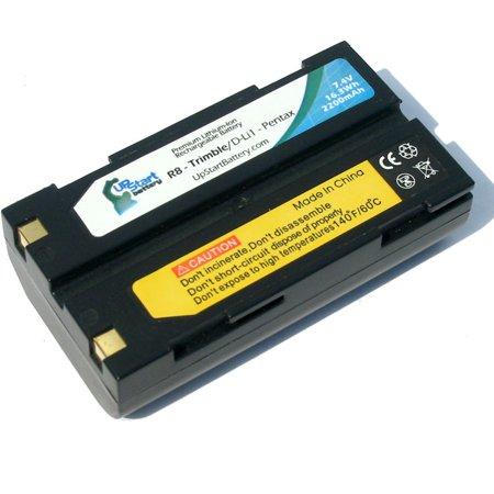 Compatible Trimble R6 Battery - Compatible for Trimble GPS Battery (2200mAh, 7.4V, Lithium-Ion)