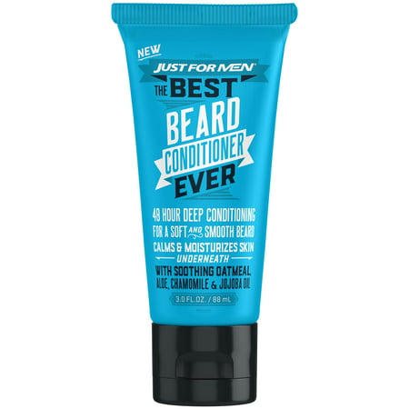 Just For Men, The Best Beard Conditioner Ever, For a Soft and Smooth Beard, 3 Fluid Ounce (88 (Best Aveda Aftershaves)