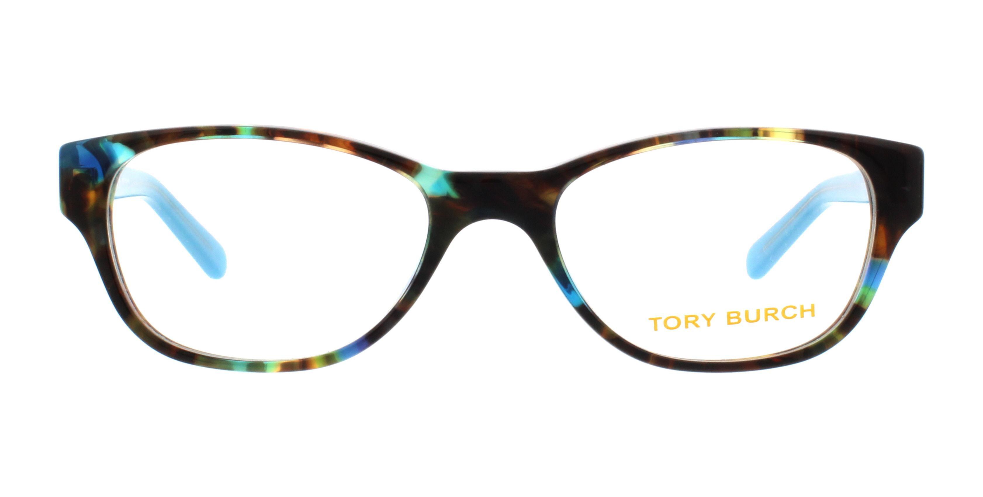 6a57ea1f61 Tory Burch - TORY BURCH Eyeglasses TY2031 3153 Blue Brown Tortoise Blue  Lark 49MM - Walmart.com