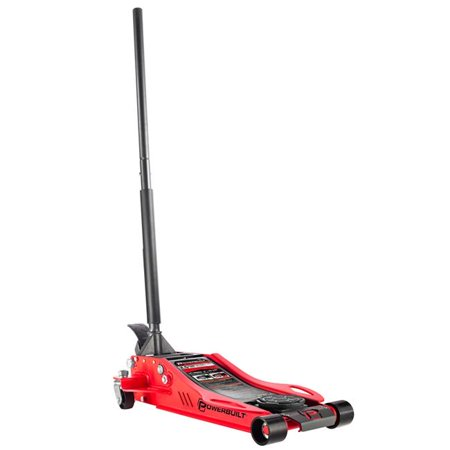 Powerbuilt 240076 Powerbuilt 240076 3 in. to 19.5 in. 2.5 Ton Low Profile Fast Lift Floor Jack