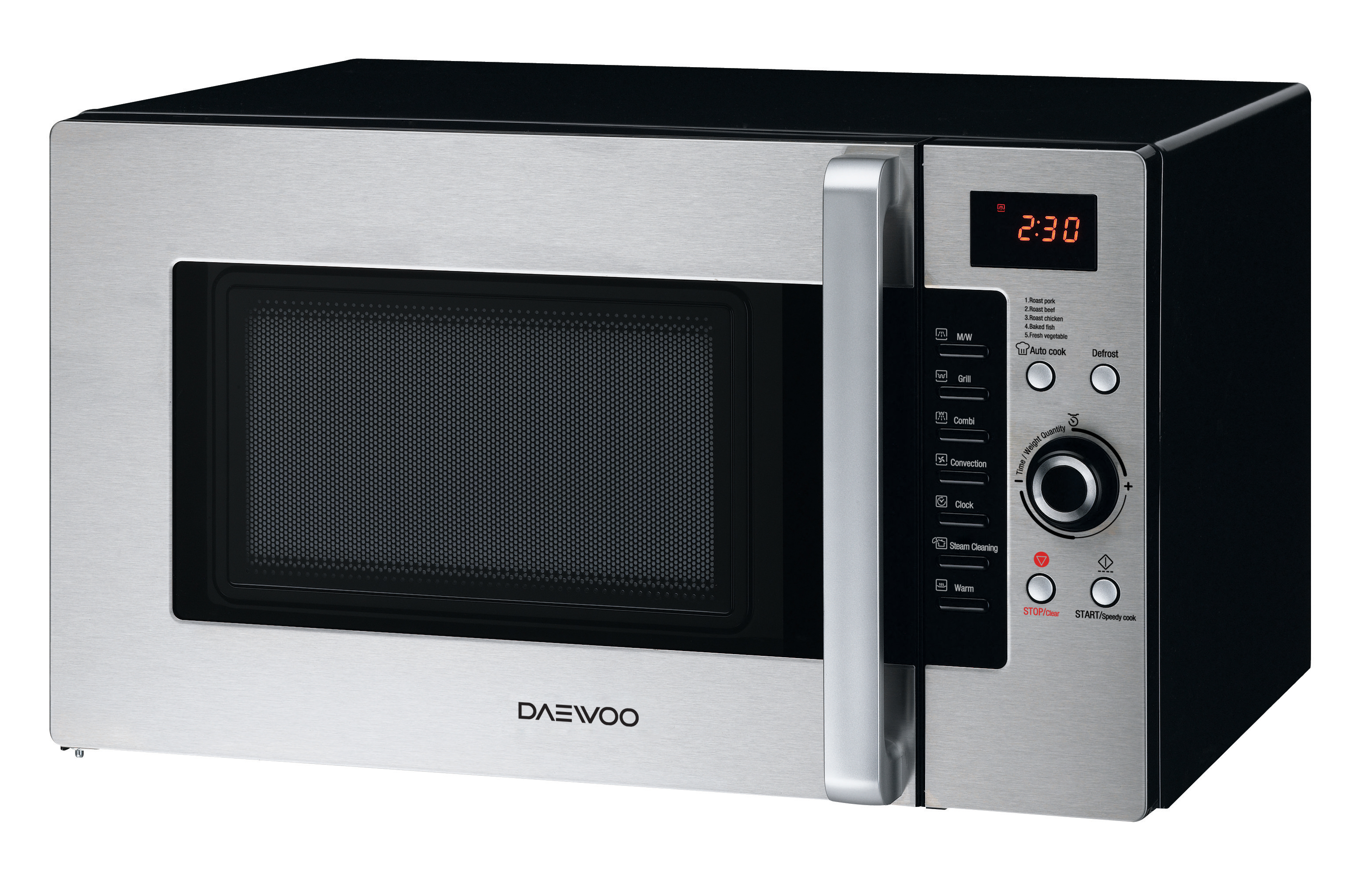 Daewoo Koc 9q4ds Convection Microwave Oven 1 0 Cu Ft 900w Stainless Steel